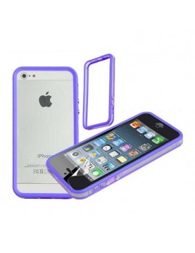 Bumper iPhone 5/5S, SE Silicone Moxie-Violet