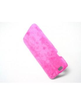 Coque iPhone 6/6S - Peau de peluche fourrure rose