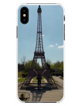 Coque personnalisable pour iPhone XS MAX - Contour Souple Blanc