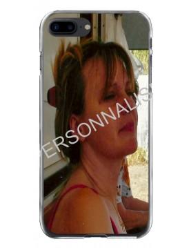 iPhone 7 Plus/8 Plus - Coque personnalisable - Contour Souple Transparent
