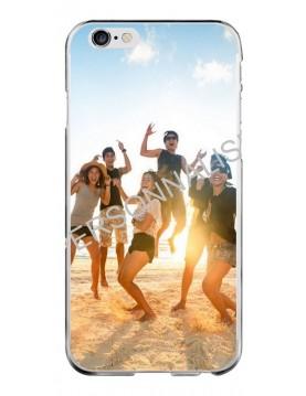 Coque personnalisable pour iPhone 6/6S - Contour Souple Transparent