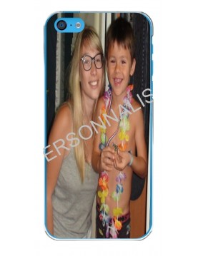 iPhone 5C - Coque personnalisable - Contour Souple Transparent