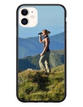 Coque personnalisable pour iPhone 11 - Contour Souple Noir