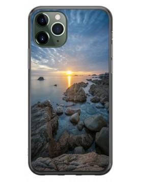 Coque personnalisable pour iPhone 11 PRO - Contour Souple Noir