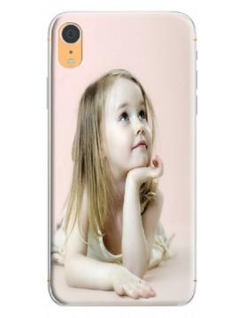Coque personnalisable pour iPhone XR - Contour Souple Blanc