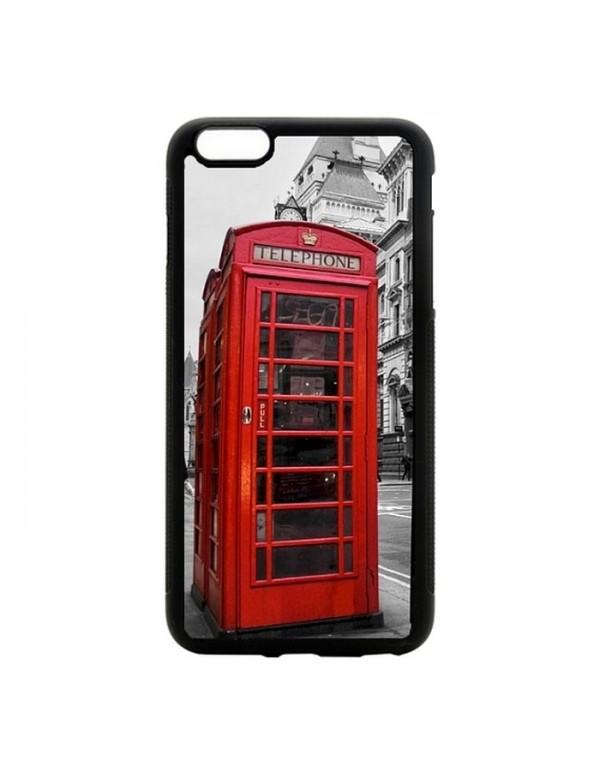 Coque souple iPhone 6/6S - Londres cabine téléphonique rouge.