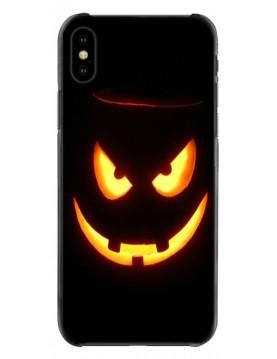 Coque iPhone Halloween Sourire Diabolique lumineux