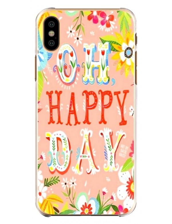 Coque souple pour iPhone Oh Happy Day printemps