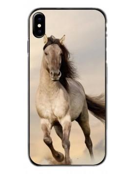 Coque de Protection pour iPhone X/XS - Magnifique Cheval blanc