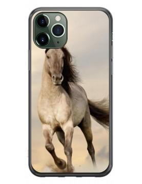 Coque de Protection pour iPhone 11 Pro Max - Magnifique Cheval blanc