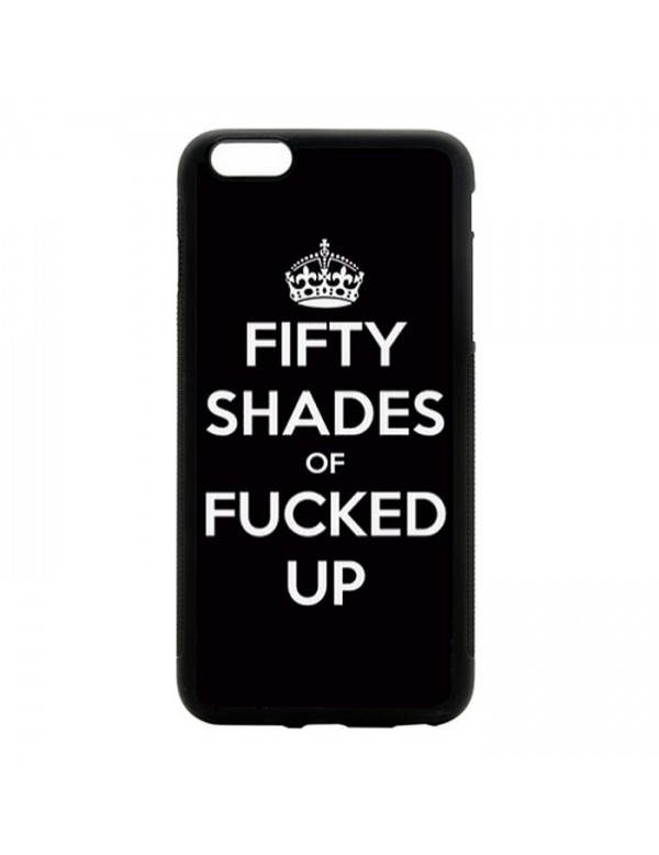 Coque iPhone 5/5S Fifty shades of Fucked up
