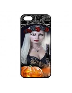 Coque iPhone 5/5S Sorcière sexy halloween