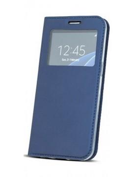 Étui Flip Cover Bleu Marine pour Samsung Galaxy S9