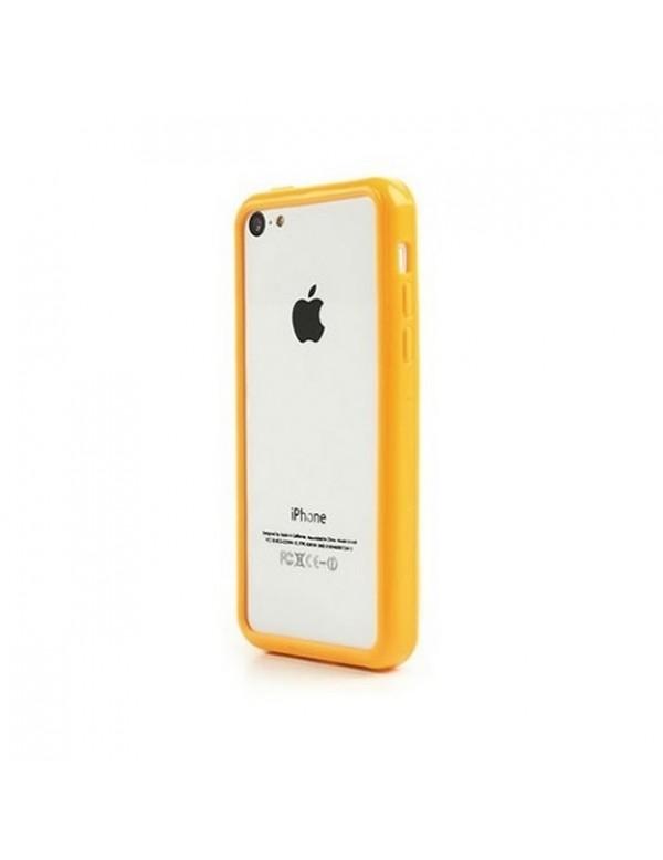Bumper silicone iPhone 5/5S - jaune