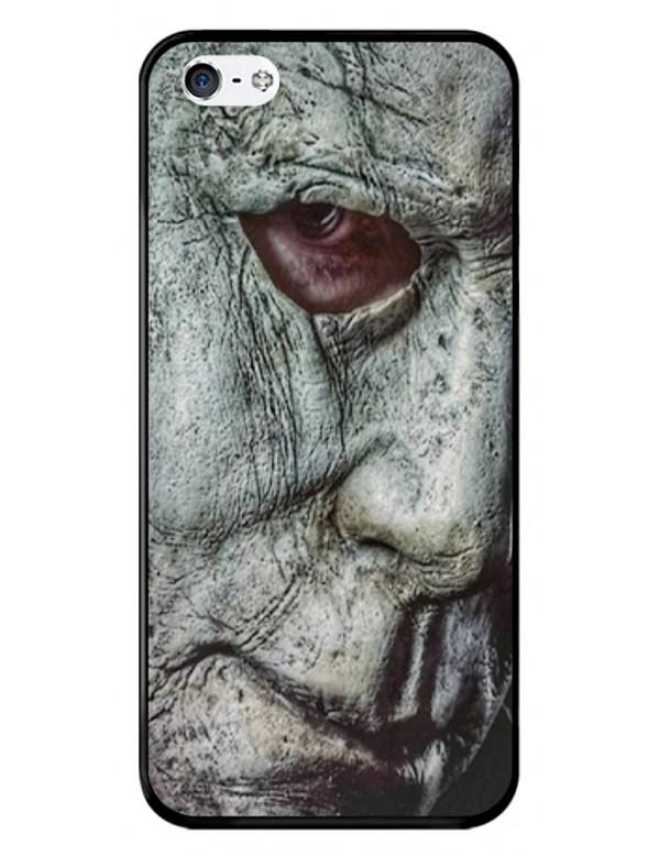 Coque iPhone 5/5S, SE - Visage Masque Mickael Myers Halloween