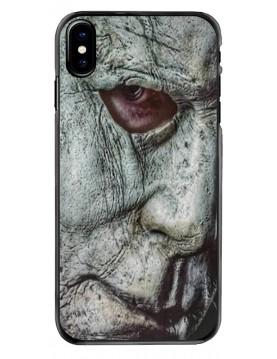 Coque-iPhone-X-XS-Visage-Masque-Mickael-Myers-Halloween