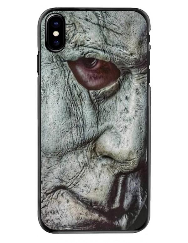 Coque iPhone X/XS - Visage Masque Mickael Myers Halloween