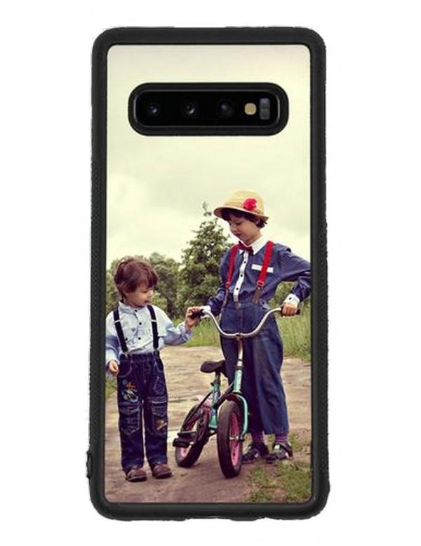 Samsung Galaxy S10 - Coque personnalisable - Souple Noir
