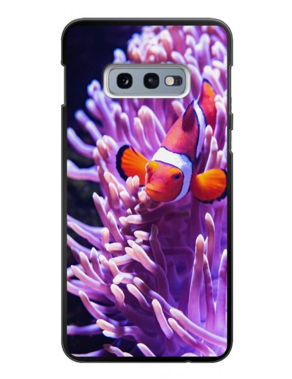 Samsung Galaxy S10E - Coque personnalisable - Souple Noir