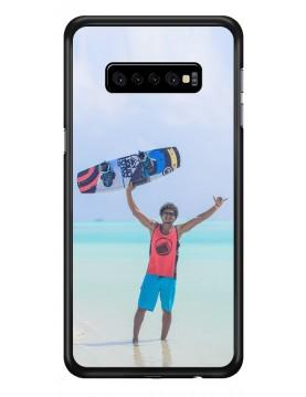 Samsung Galaxy S10 Plus - Coque personnalisable - Souple Noir
