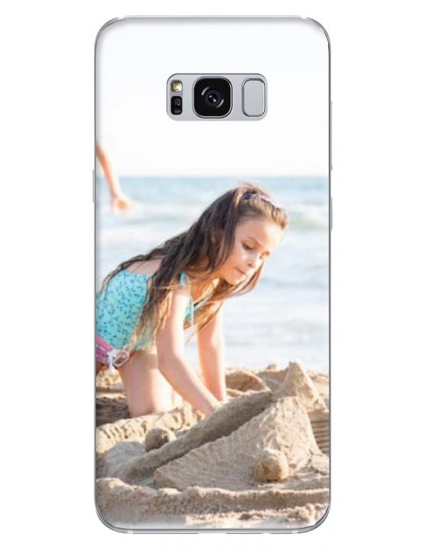 Samsung Galaxy S8 Plus - Coque personnalisable - Souple Noir