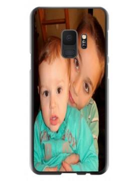 Coque personnalisable Samsung Galaxy S9 - Rigide Noir