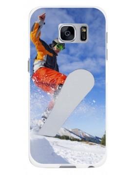 Samsung Galaxy S6 Edge Plus - Coque personnalisable - Rigide Blanc