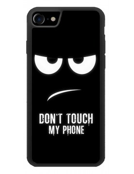 Coque rigide pour iPhone 7/8 - Don't touch my phone