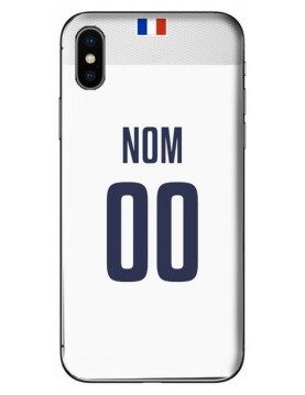 COQUE MAILLOT RUGBY - FRANCE EXTERIEUR 2019 - PERSONNALISABLE
