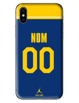 COQUE MAILLOT BASKET - GOLDEN STATE WARRIORS - PERSONNALISABLE