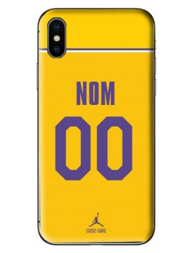 COQUE MAILLOT BASKET - LEBRON JAMES LOS ANGELES LAKERS - PERSONNALISABLE