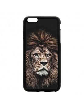Coque rigide iPhone 5/5S/SE - The king lion
