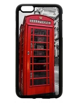 Coque Apple iPhone 5C- Londres cabine téléphonique rouge.