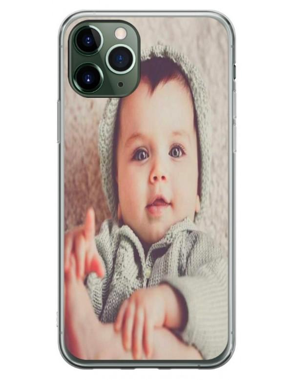 Coque personnalisable pour iPhone 11 PRO MAX - Contour Souple Transparent