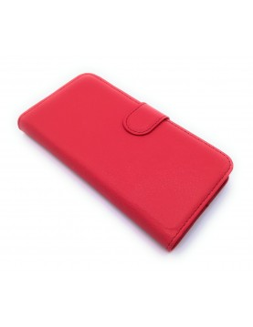 Etui Folio rouge pour ZTE Blade S7 avec range carte vue 1