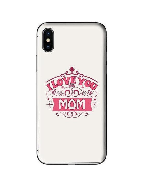 Coque de téléphone Maman I love you Mom