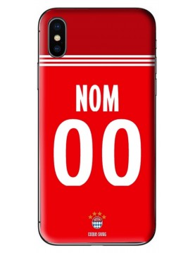 COQUE MAILLOT FOOT - BAYERN DOMICILE 2020/2021 - PERSONNALISABLE