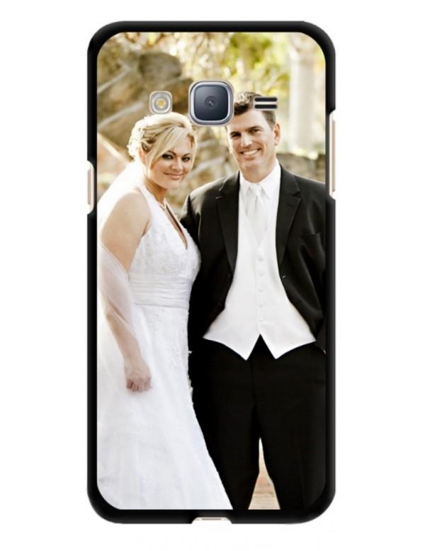 Samsung Galaxy J3 2016 - Coque personnalisable - Souple Noir