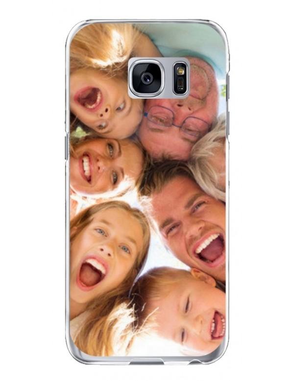 Samsung Galaxy S7 - Coque personnalisable - Souple Transparent