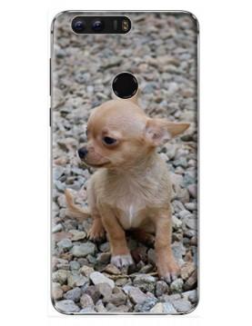 Coque Huawei Honor 8 à Personnaliser- Contour Rigide Noir