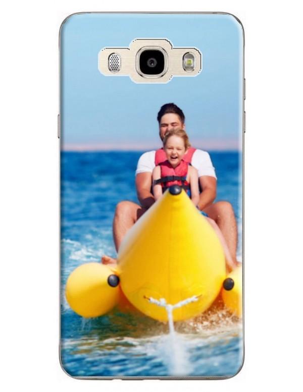 Samsung Galaxy J7 2016 - Coque personnalisable - Rigide Noir