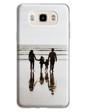 Samsung Galaxy J5 2016 - Coque personnalisable - Rigide Transparent