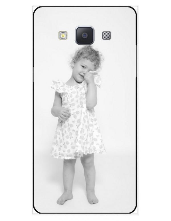 Samsung Galaxy A5 2015 - Coque personnalisable - Rigide Blanc