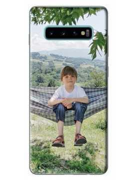 Samsung Galaxy S10 5G - Coque personnalisable - Souple Transparent