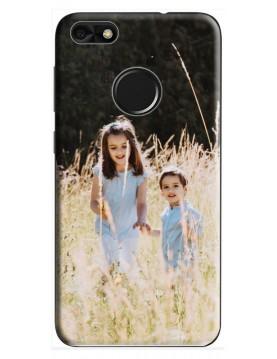 Coque Huawei P10 Lite  à Personnaliser- Contour Souple Noir