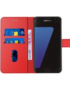 Etui portefeuille pour Samsung galaxy S7