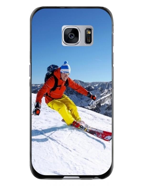 Samsung Galaxy S6 Edge - Coque personnalisable - Souple Transparent
