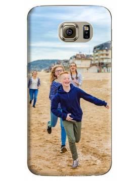 Samsung Galaxy S6 - Coque personnalisable - Souple Transparent