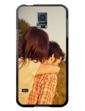 Coque-personnalisée Samsung-Galaxy-S5-Rigide-Noir