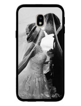 Samsung Galaxy J3 2017 - Coque personnalisable - Rigide Noir